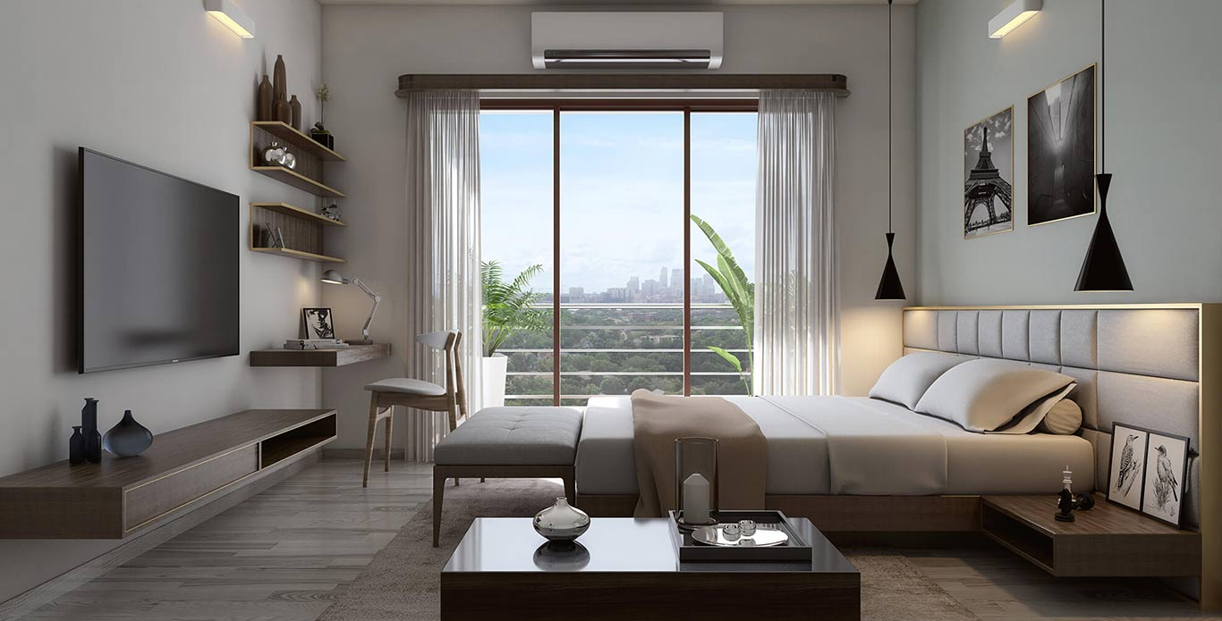 Godrej Central Park Master Bedroom Picture Gallery
