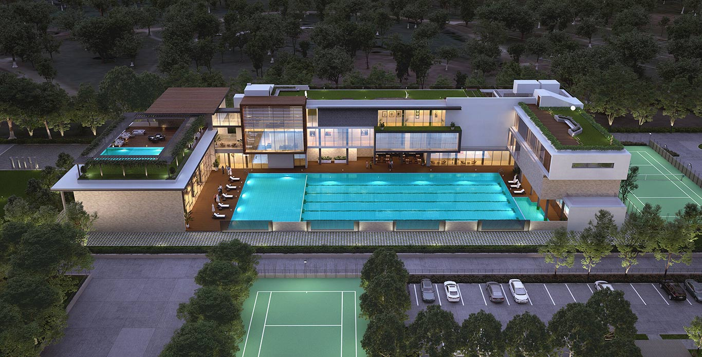 Godrej Central Park  Clubhouse Picture Gallery